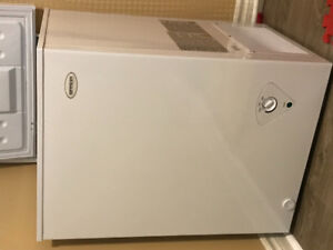 Brada 3.5 Cubic Ft White Chest Freezer