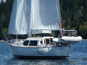 33 foot Pilothouse sailboat Turnkey