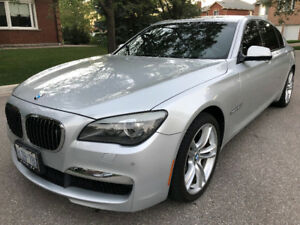 2010 BMW 750Li-Xdrive M-package,Navi,Blindspot,Lane assist, Nigh