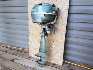 2.5 hp antique Johnson trolling outboard