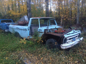 1965 and 69 Ford F-100 Unibody Pickup Truck