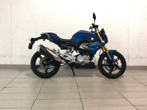 2018 BMW G310R- Strato Blue Metallic-$5,565.60 + HST