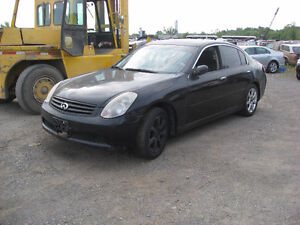 2005 INFINITY G35 AWD PARTING OUT