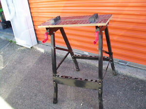 Workmate Work Bench with Adjustable Vice Top