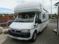 Auto Trail Mohican Motorhome, 26000 miles great condition