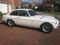 1970 MGB GT. Left-Hand Drive. Solid Recommissioned Example