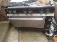 Industrial gas cooker
