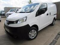 NISSAN NV200 ACENTA VAN 1.5 DCI 2014 FULL SERVICE HISTORY ONE OWNER VGC