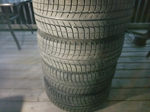 215/65 R16 Michelin X-ICE i3 Winter Tires+Rims