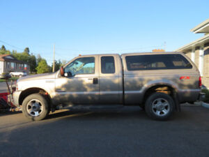 2007 Ford F-250 Super Duty super cab 4x4 Lariat with Plow