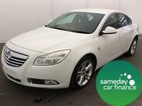ONLY £172.10 PER MONTH WHITE 2011 VAUXHALL INSIGNIA 2.0 SRI AUTO DIESEL