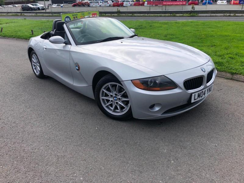 2004 Bmw Z4 22i Se Roadster New Mot Only 61000 Miles In