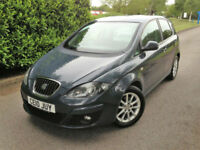 2010 10 SEAT ALTEA 1.9TDI SE COMB MPG 47.1 GREAT VALUE TDI MPV !!!!