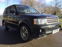 Land Rover Range Rover Sport 3.6 TDV8 HSE (black) 2010