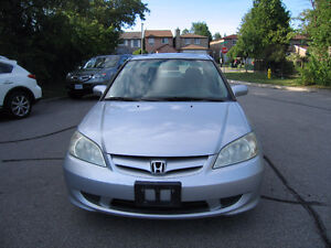 2005 Honda Civic VERY clean Sedan NO RUST Certified