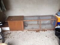Small poultry coop/run (quail, chicken)