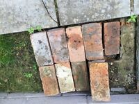 18 used bricks free to collect