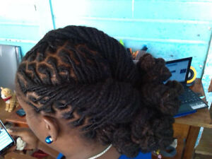 Loctician; Specialized in dreadlock care, maintenance, and style