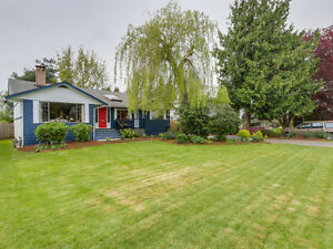 Home on Beautiful Property in Exclusive Ladner Neighbourhood