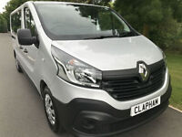 2016 16 RENAULT TRAFIC BUSINESS 9 SEAT MINIBUS 1.6DCI EURO 6 FREE UK DELIVERY