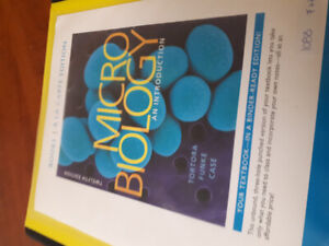 Microbiology textbook for college student