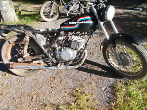 Harley Davidson  250ss parts/project