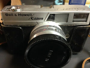 Antique Camera - bell & Howell Canon canonet