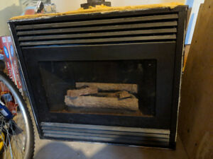 Lennox natural gas fireplace insert