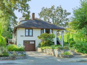 Sweet Home mere steps from Oak Bay Village!  Open House Sun!