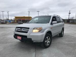 2007 Honda Pilot EX-L, 8 Pass, Leather, 3/Yr  Warranty alailable