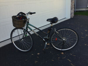 Bike for Sale equipped with front basket and more