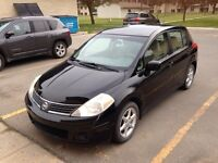 2007 Nissan Versa low kms!!!