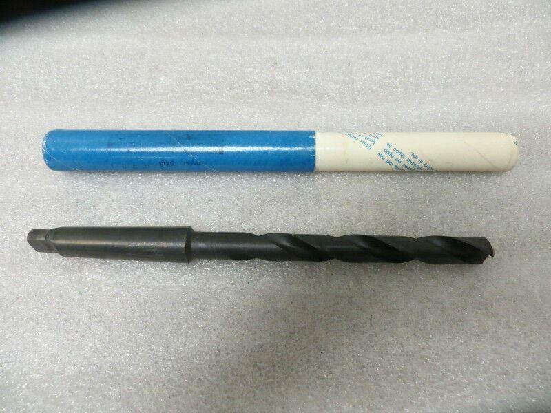 """35/64""""  # 2 Morse Taper High Speed Brown & Sharp Drill Bit New U.S.A."""