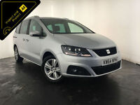 2015 SEAT ALHAMBRA SE ECOMOTIVE CR TDI DIESEL AUTO 7 SEATS FINANCE PX WELCOME