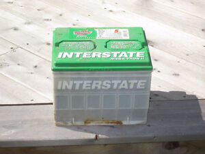 Interstate  Mega-Tron ll Battery