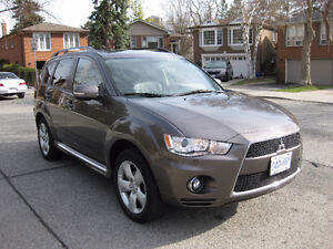 2010 Mitsubishi Outlander leather SUV, Crossover