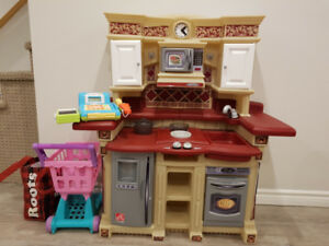 Play Kitchen(paid $239+ tax new) w/accessories