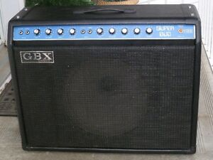 Vintage G.B.X. Combo Amplifier, (Made in Canada)