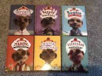 Set of Meerkat books X 6