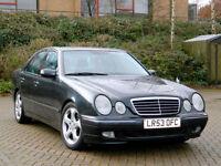 2003 53 Mercedes-Benz E Class 2.6 E240 Avantgarde WITH LEATHER INTERIOR