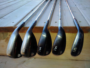 Golf wedges: Callaway, Cleveland, Wilson, Adams