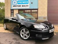 2006 SAAB 9-3 2.8T V6 AERO CONVERTIBLE 6 SPEED MANUAL, VERY RARE CAR!!!