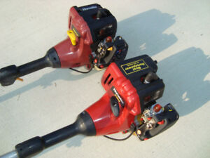 2 HOMELITE GAS WEED TRIMMERS