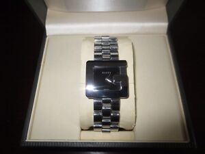 Authentic mens stainless GUCCI G watch Cambridge Kitchener Area image 4