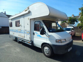 Roller Team 181 6 Berth Family Motorhome Campervan Reduced to Sell £14,999