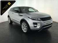 2013 RANGE ROVER EVOQUE D-LUX SD4 AUTO COUPE 1 OWNER SERVICE HISTORY FINANCE PX