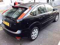 2007 FORD FOCUS 1.6 LX(NA07NFJ) BLACK 5 DOOR HATCHBACK 1 OWNER