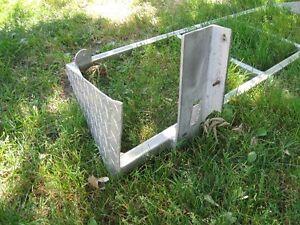 un rack pour camion en alluminium