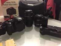 Canon 450D Dslr camera package