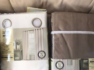 Brand new blackout window curtains pack of 2 for $34